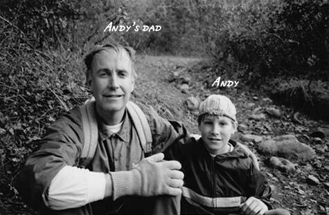 Andy Grayson and dad