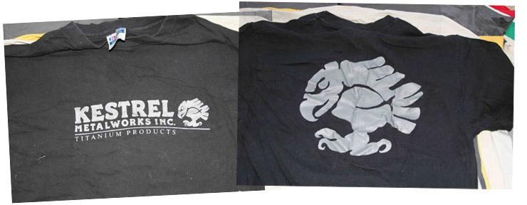 kestrel t-shirts