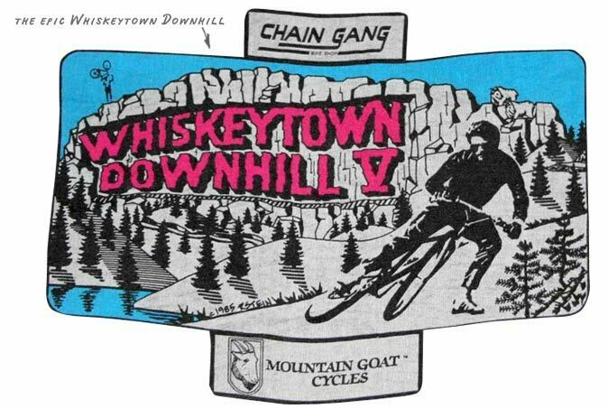 whiskeytown downhill