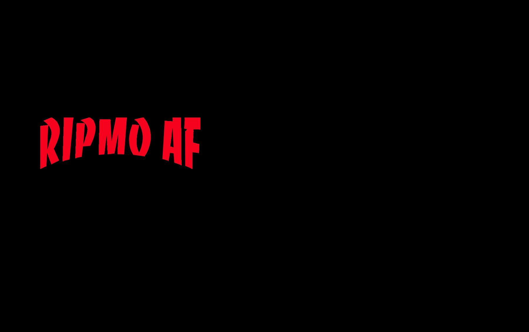 Ripmo AF - it's metal logo